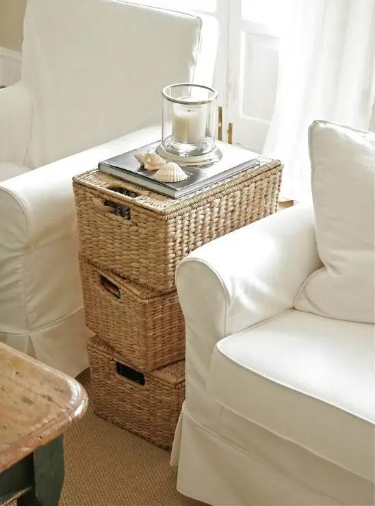 Coastal And Nautical Storage Baskets And Bins To Keep
