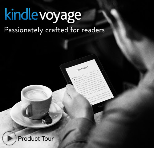 Kindle Voyage Touch Screen E-Reader with Light