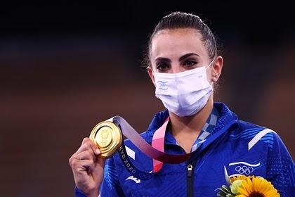 Президент Израиля обратился к обыгравшей Аверину на Олимпиаде гимнастке