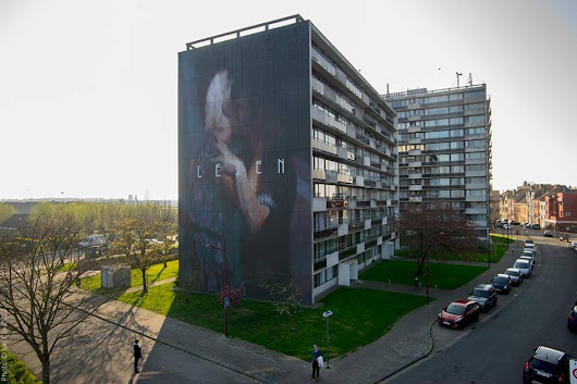 "Axel Void ""Leven"" in Ostend, Belgium 