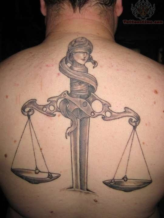 25 Libra Scale Tattoos With Calming And Balanced Meanings Tattoos Win