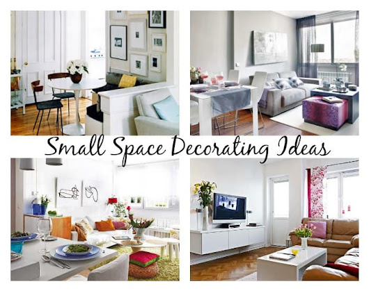 Small Space Decorating Ideas | Up to Date Interiors