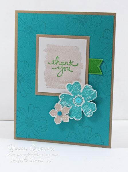 Flower Shop - PPA295-Color-Challenge-&-SSINK-Card-Sketch