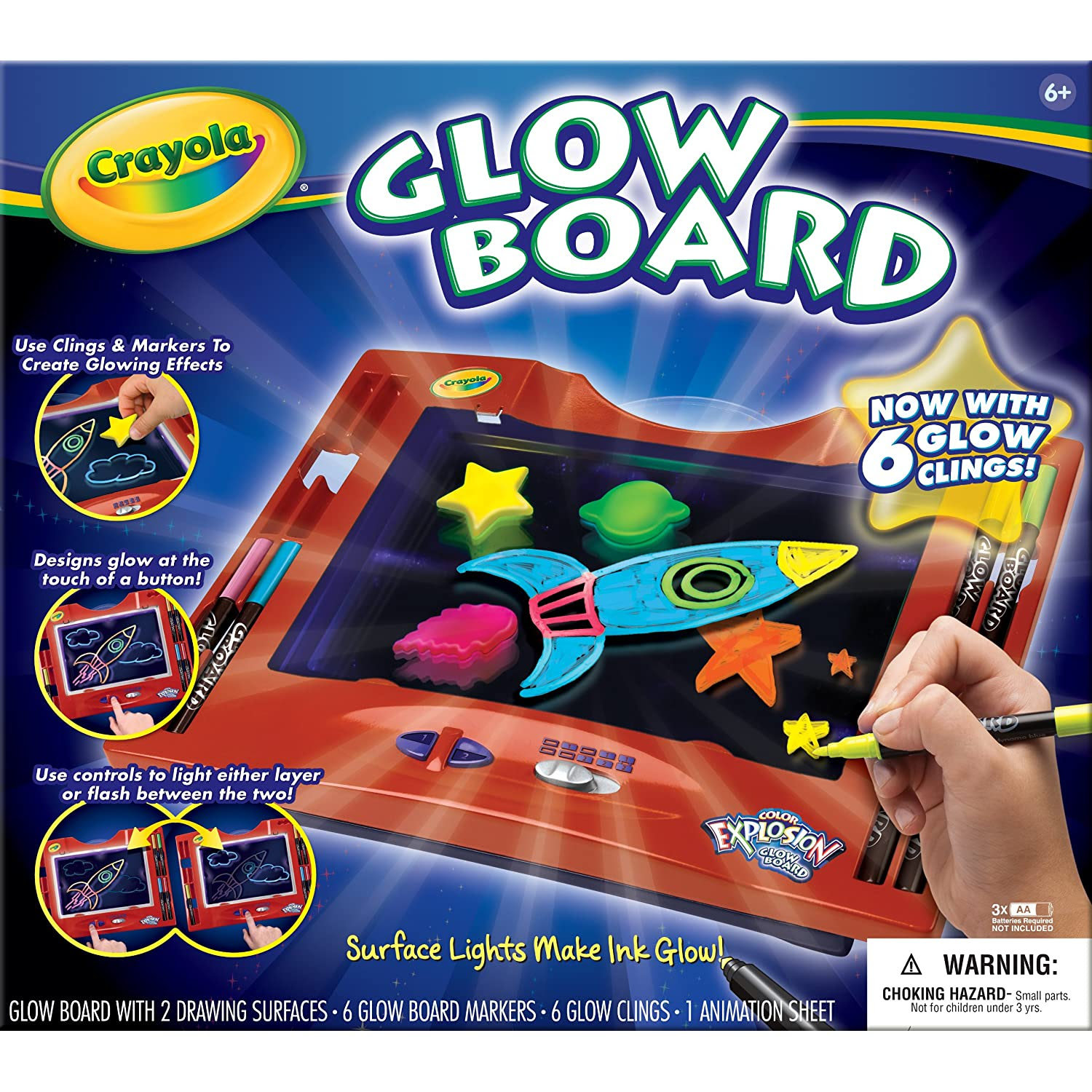 Download Crayola Color Explosion Glow Board for $15.99 - 2 Boys + 1 Girl = One Crazy Mom