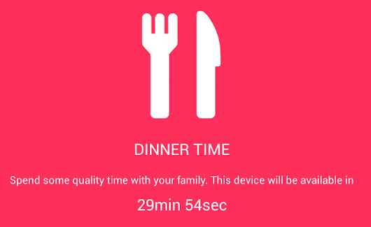 DinnerTime app forces your kids from their phones and asks them to eat with the rest of the family