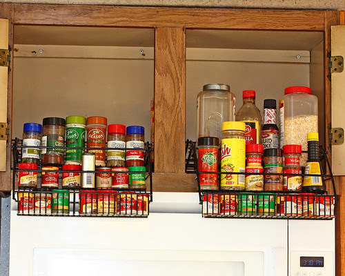 My new spice racks