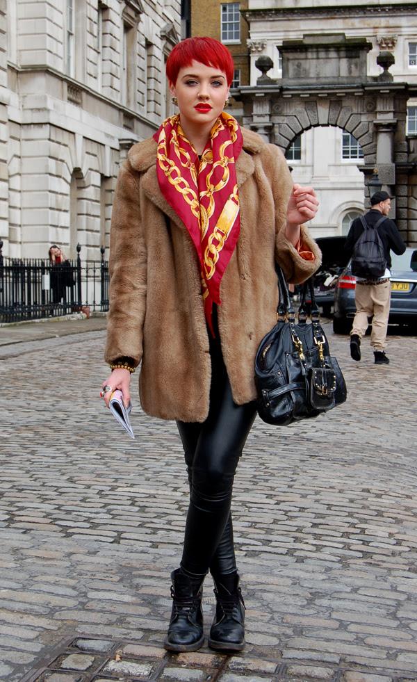 red_hair_London_Fashion_Week