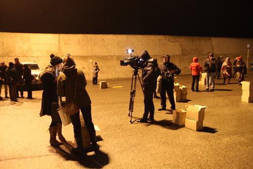 News coverage at Tallinn Port