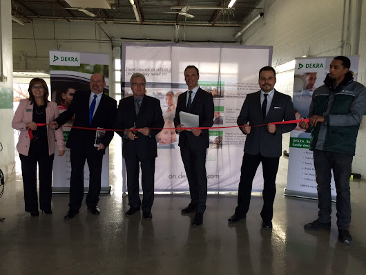 Mayor of Pickering attends grand opening celebration
