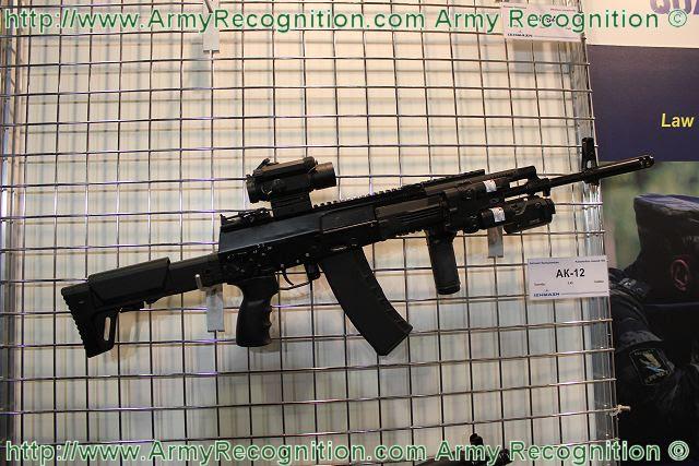 Diversas modificaciones de una nueva AK-12 rifle de asalto Kalashnikov, así como una serie de otras armas pequeñas se pondrán en servicio en las fuerzas armadas rusas en el 2014, dijo un alto funcionario del gobierno.