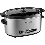 KitchenAid - KSC6223SS 6-Quart Slow Cooker - Stainless-Steel