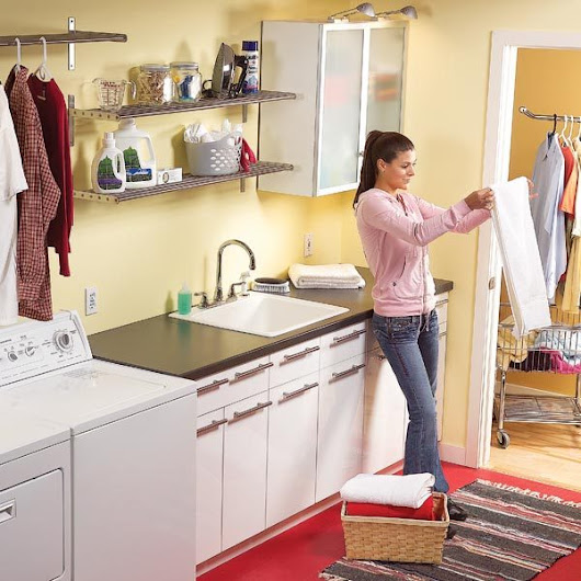 Convert an Unfinished Laundry Area Into a Laundry Room | The Family Handyman