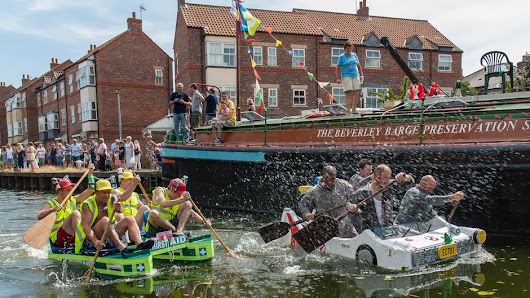 The 5th Annual Beverley Raft Race