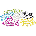 3D Butterflies - 120-Pack Butterfly Decals, Butterfly Mural, Craft Butterfly Decorations, Perfect DIY Wall Decoration for Home, Nursery and Girls