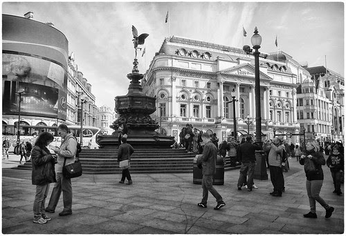 London, Piccadilly Circus & Eros