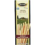 Alessi - Breadsticks - Garlic - Case Of 6 - 4.4 Oz