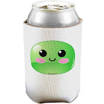 Cute RPG Slime - Green Can / Bottle Insulator Coolers by TooLoud