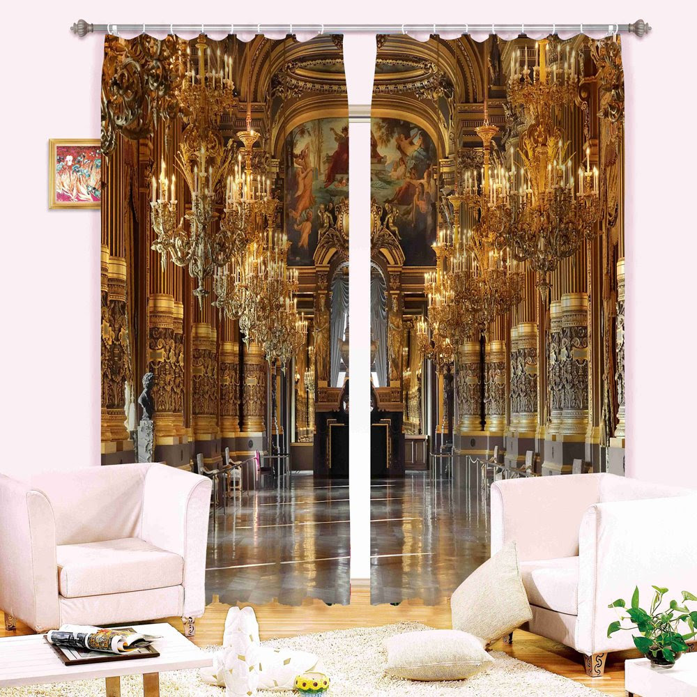Magnificent Scene 3D Energy Saving Curtain