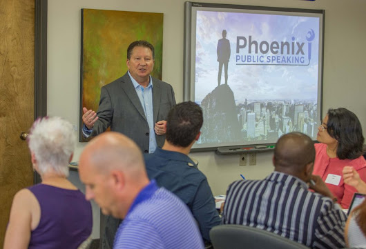 '3 Steps to Own Any Room' Workshop • Phoenix Public Speaking