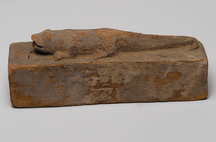 Egypt Crocodile Mummy Coffin