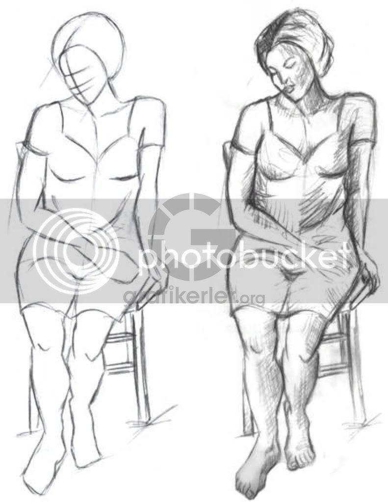 Aşama Aşama Kadın Figürü çizme