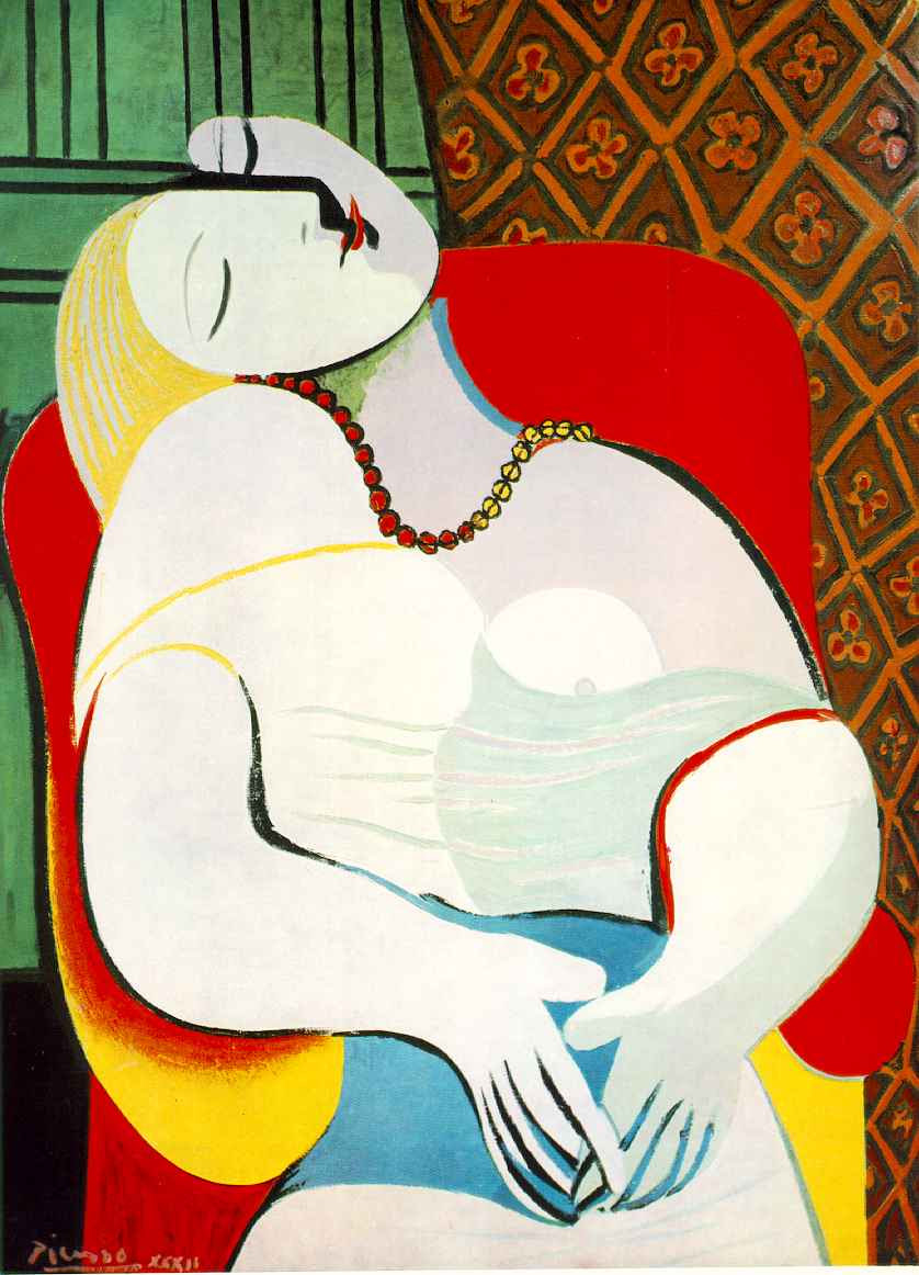 Picasso Le Reve Painting