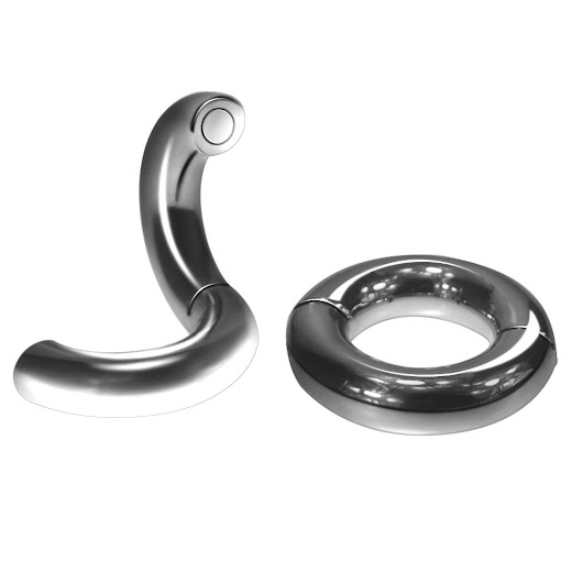 Penis Cock Rings 5 Size Optional Heavy Duty Magnetic Stainless Steel Ball Scrotum Stretcher Metal Dick Ring Delay Ejaculation Sex Toy Men Penis Cock Rings Cockring Online with $66.52/Piece on Alinaluo's Store | DHgate.com