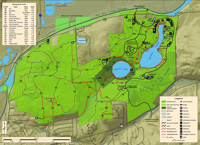 Campingflash Camping At Letchworth State Park Ny