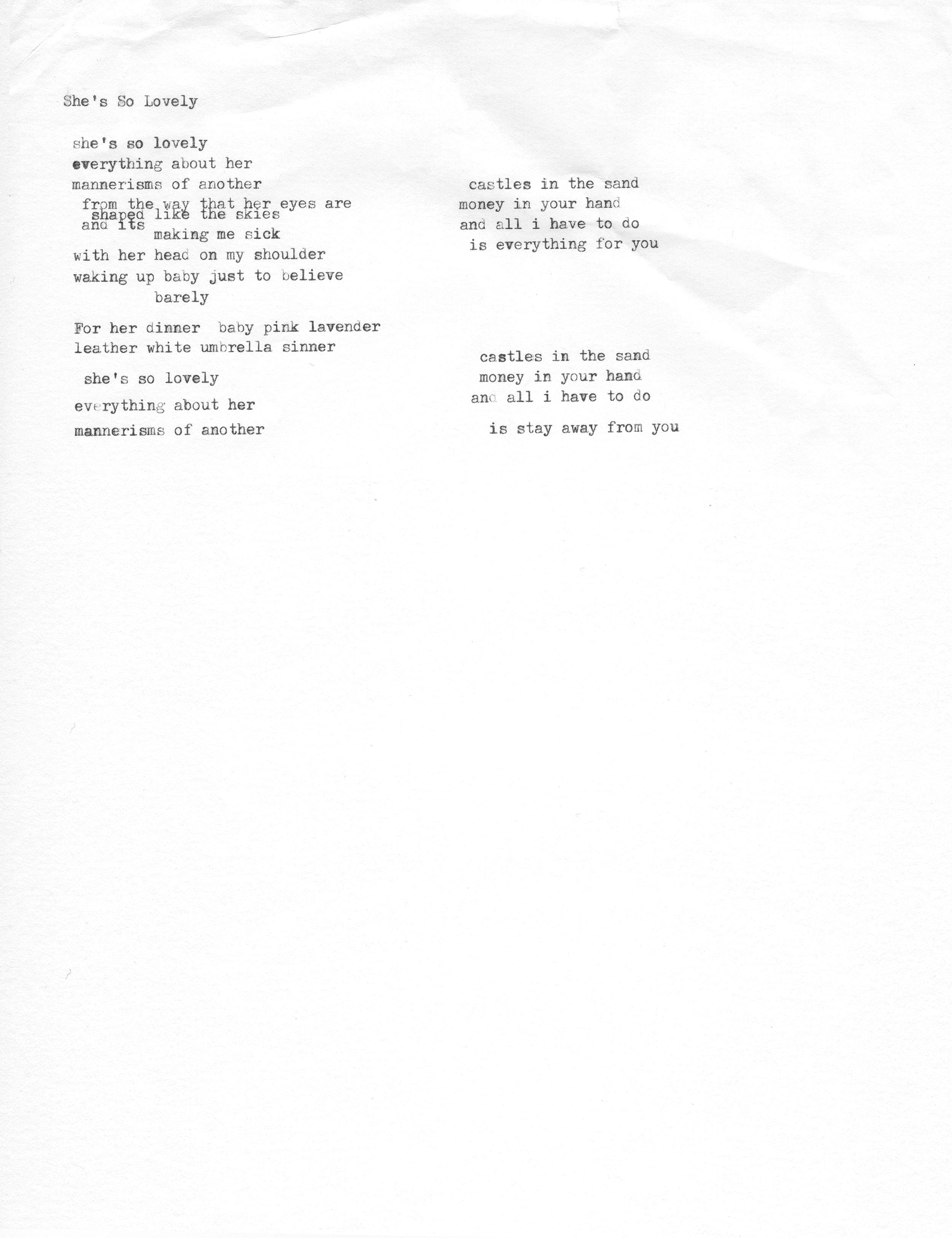 Lyrics on depression cherry site point to different songs ...