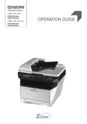 Kyocera ECOSYS M2035dn Manual