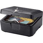 SentrySafe Fire Chest 0500 Box - Black
