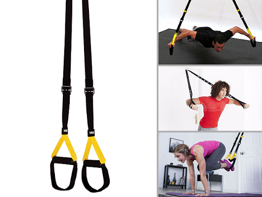 Build a Better Body at Home by Winning 1 of 3 TRX Home Suspension Training Systems