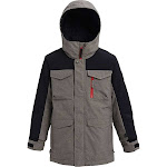 Burton Boys' Covert Jacket - Small - Bog Heather / True Black