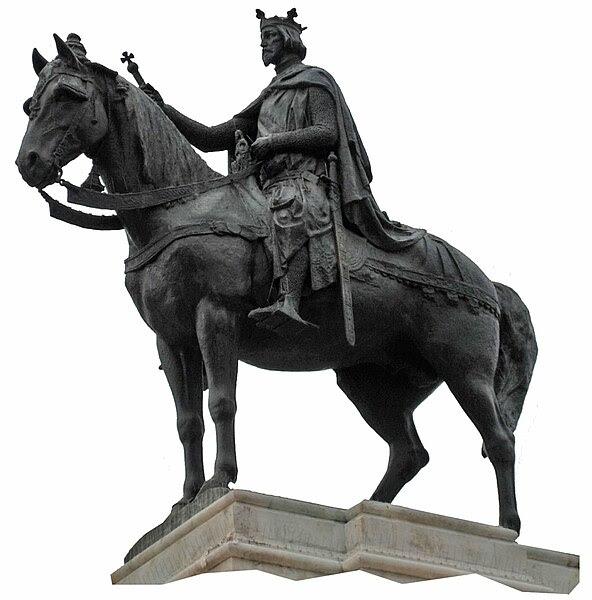 Archivo:Estatua rey Fernando III de Castilla-ret.jpg