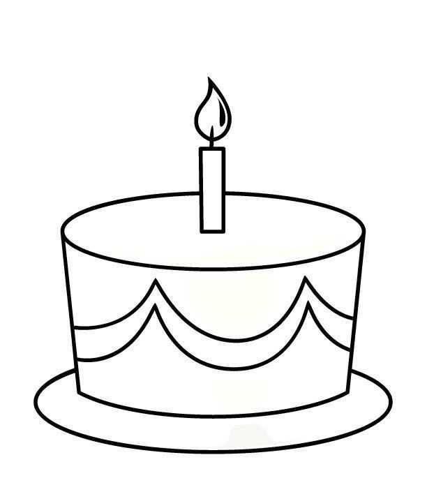 Dogum Gunu Pasta Boyama 4 Okul öncesi Etkinlik Faliyetleri