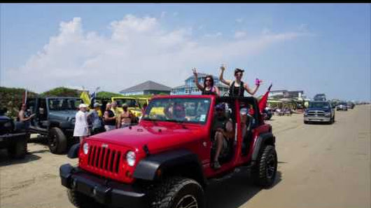 Jeep Go Topless At The Beach May 2016 Crystal Beach Tx