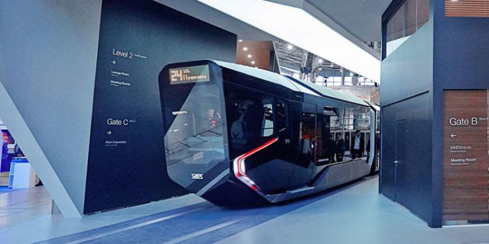 Die Welt. Il super tram del futuro russo: una Batmobile stabilirà nuovi standard in tutto il mondo