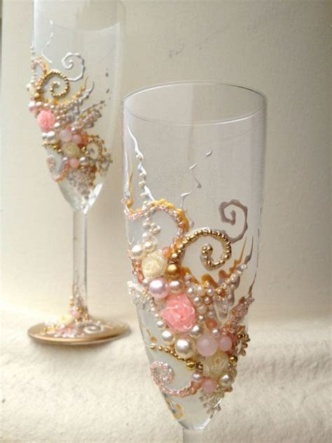 17 Best images about Wedding Toasting Flutes by Pure