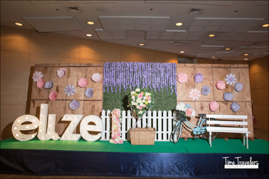 Elize's Garden Tea Party Themed Party - 1st Birthday - Party Doll Manila