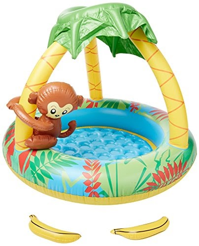 jilong monkey pool 100 x 80 cm kinderpool mit. Black Bedroom Furniture Sets. Home Design Ideas