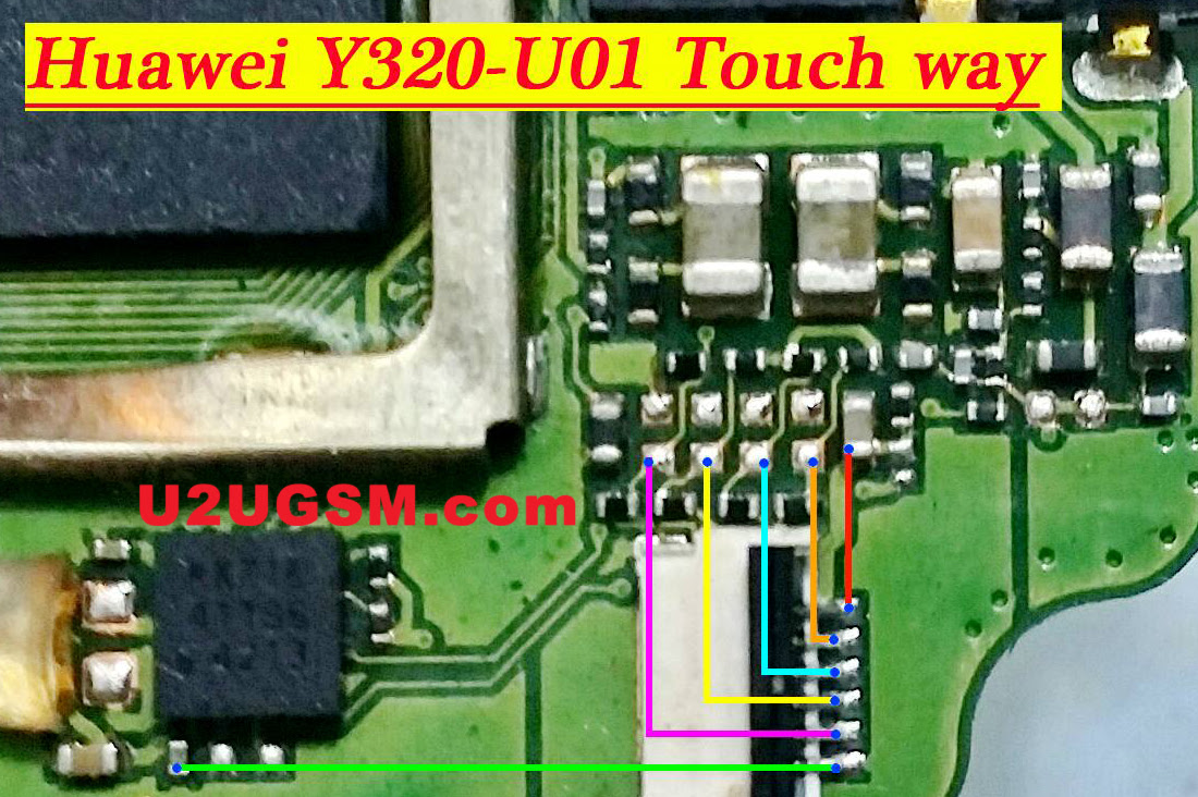 Huawei Ascend Y320 touch screen not working problem solution jumpers