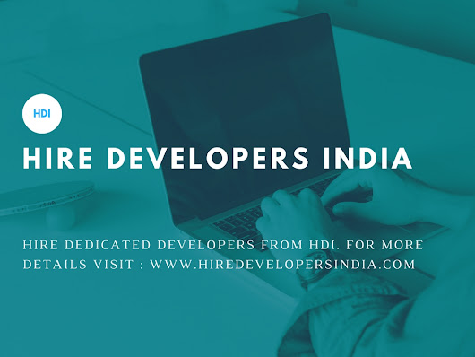 Hire Developers India is an ideal solution to ascend your online business. Know why!