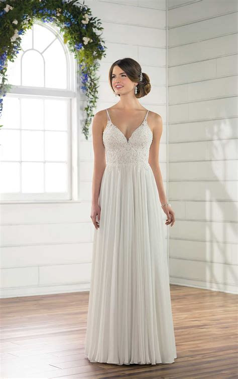 casual beach wedding dress essense  australia wedding