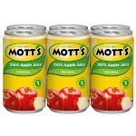 Motts Apple Regular Juice Aluminum Pack
