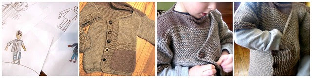 Jedi Sweater -- Knitting Project from 2/17/10