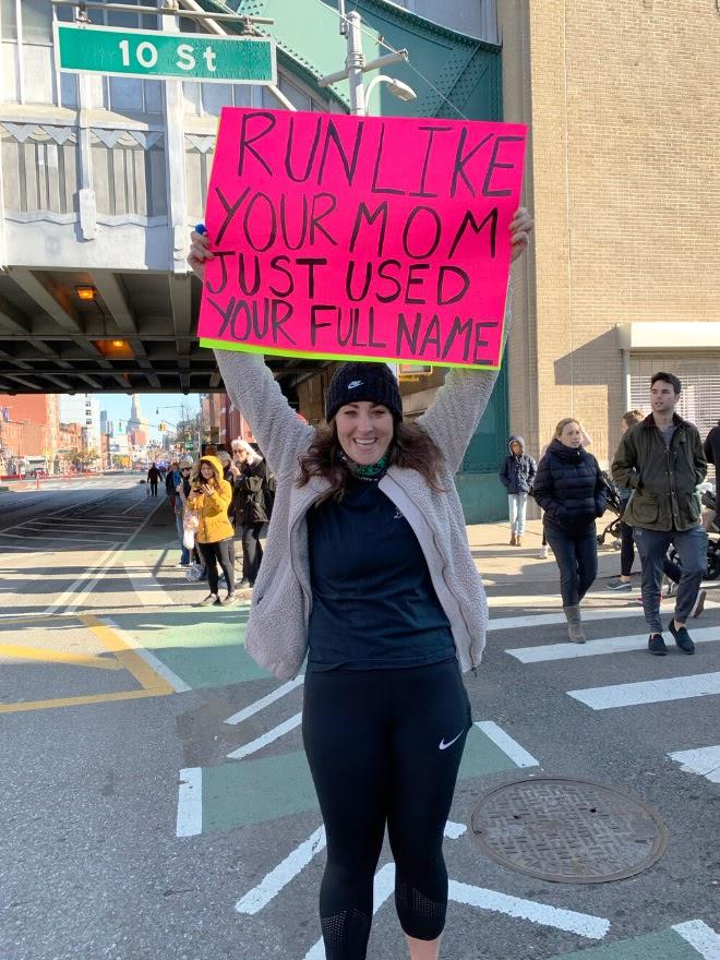 The Funniest Marathon Signs