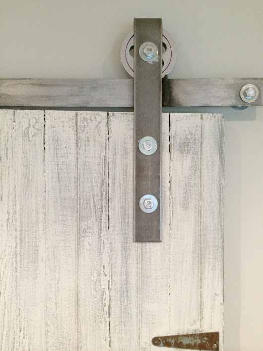 DIY: How to Make Your Own Sliding Barn Door