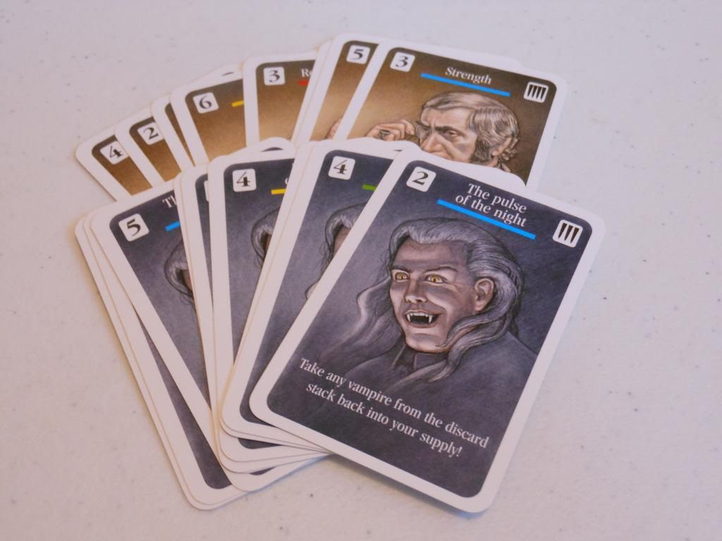 Dracula - action cards