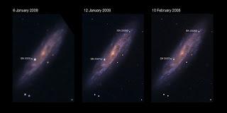 NGC 2770, SN 2007uy y SN 2008D