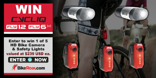 Win 1 of 5 Cycliq All-in-one HD Bike Camera and Safety Lights